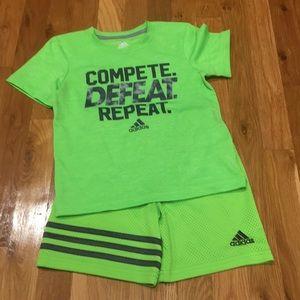 Little Boys Adidas Set